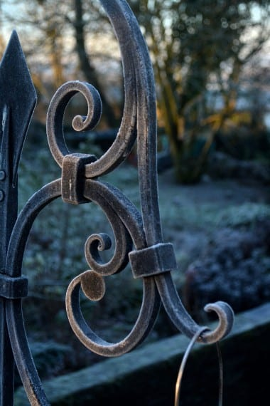 Art, Hand Forged, Bird Feeder, Garden, Birds, Frost, Kyle Swann, Garden Design, Landscape,