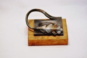 Oak, Leaf, Hand Forged,Tea Light Holder, Candle, Interior, Country, Country Living,