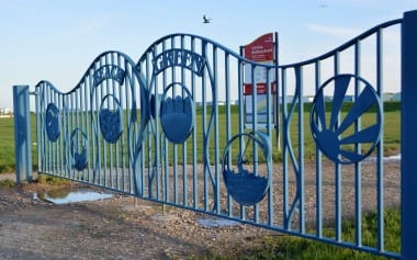 Lancing, gates, community design, public art