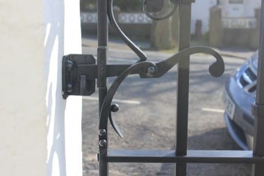 Tradtional Gate, Hand Forged Handrail, Railings, Blacksmith, Wrought Iron, Bespoke