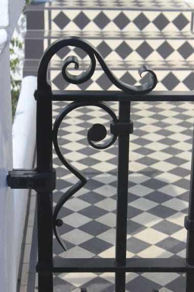 Traditional Gate, Hand Forged Handrail, Railings, Blacksmith, Wrought Iron, Bespoke