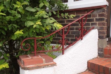 Contemporary Metal Work, Hand Forged Handrail, Railings, Blacksmith, Wrought Iron, Bespoke