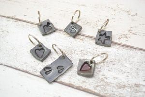 Stamp Key Rings