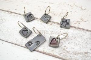 Stamp Key Rings
