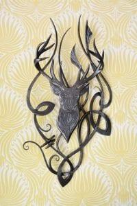 Stag, Art, Bespoke, Celtic, Artist, Blacksmith