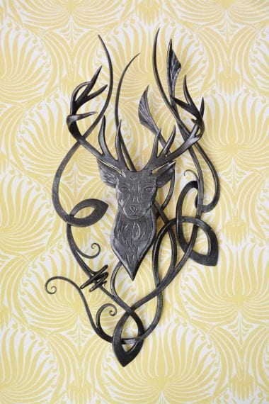 Stag, Art, Bespoke, Celtic, Artist, Blacksmith