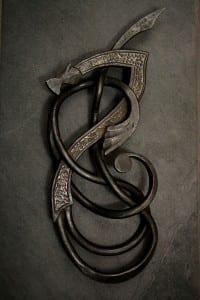 sea dragons, celtic, beautiful, unique, complicated, knotwork