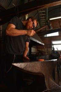 Artist Blacksmith, Bespoke Metalwork, Traditional Blacksmithing