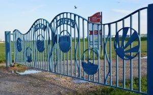 Lancing, gates, community design, public art