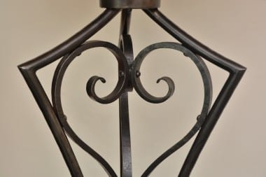 Art Deco, Standing Lamp, Lighting, Light, Bespoke, Hand Forged, Handmade, Interior Design, Blacksmith,