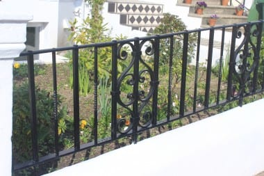 Hand Forged Handrail, Railings, Blacksmith, Wrought Iron, Bespoke