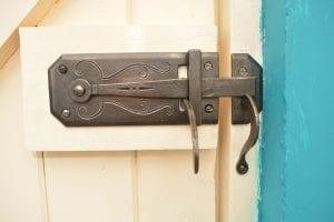 Handmade Latch, Kyle Swann, Blacksmith