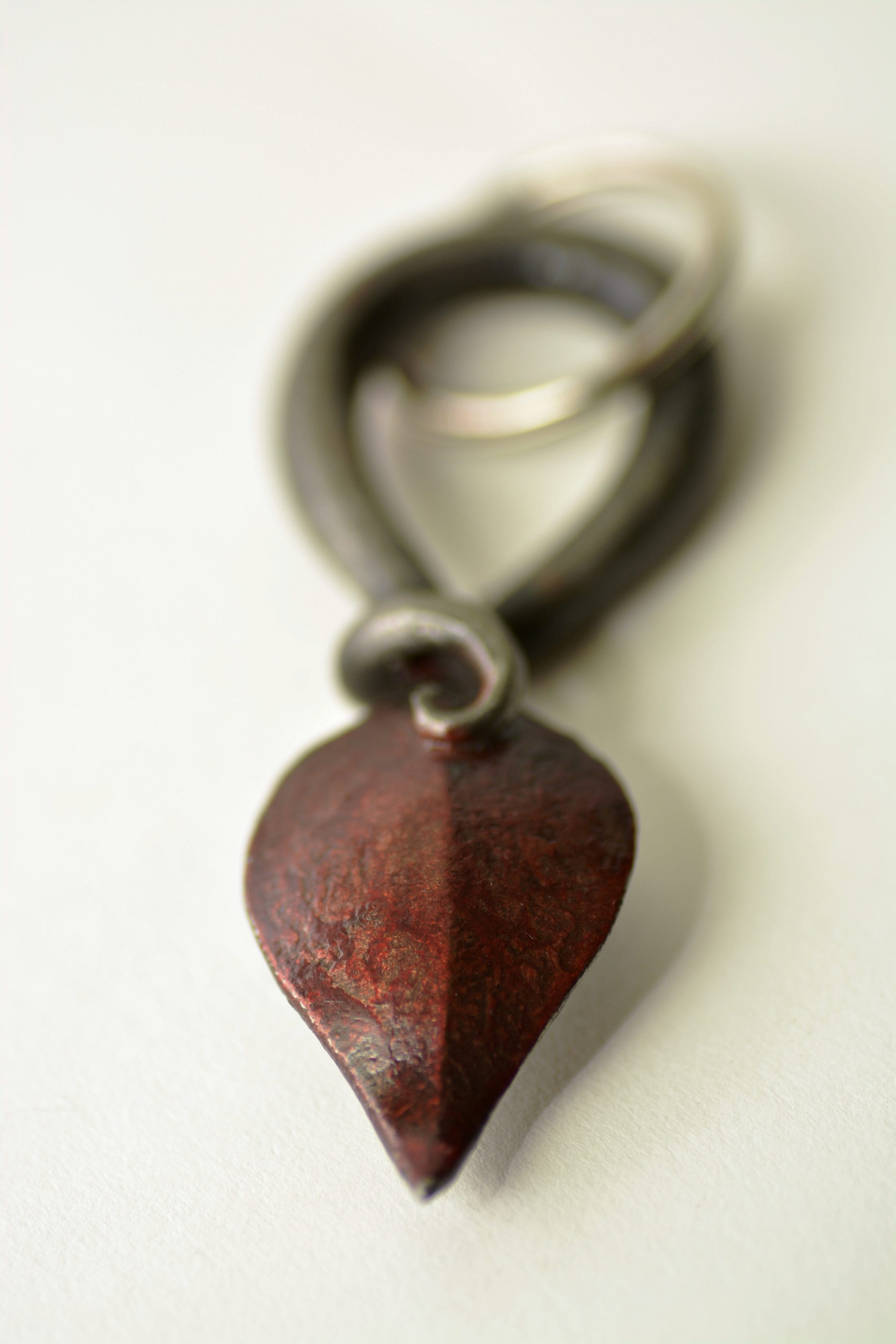 Key ring, Hand Forged, Blacksmith, Hand Made, Design, Presents, Stocking Fillers, Sussex, London, U.K, uk