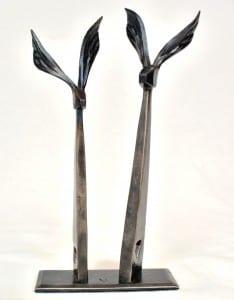 Hare, Hares, Forged, Hand Made, Bespoke, Interior, Anniversary, Gift, Present, Blacksmith, Art