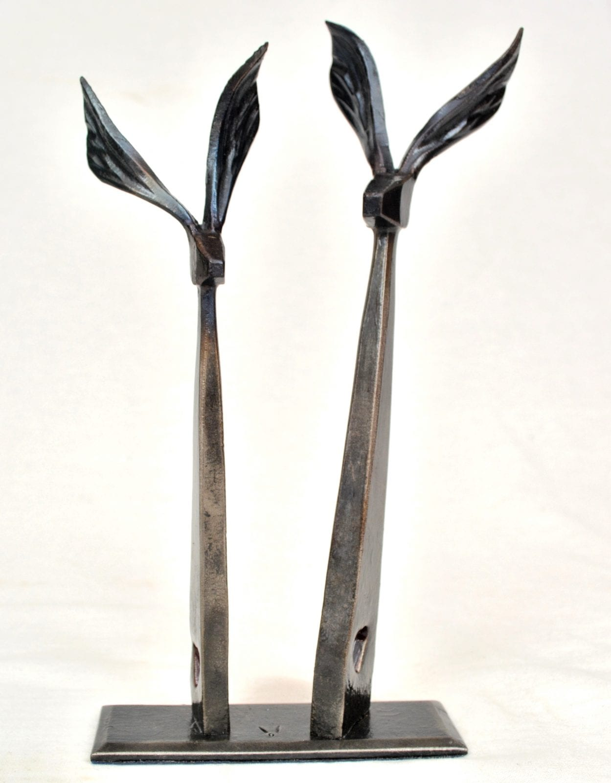 Hare, Hares, Forged, Hand Made, Bespoke, Interior, Anniversary, Gift, Present, Blacksmith, Art