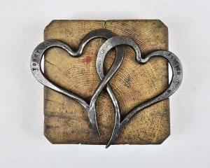 Anniversary Present, Wedding Present, Swann Forge, Heart, Blacksmith, Forged, Luxury