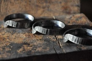 Napkin, Napkin Rings, Luxury, Table, Design, Blacksmith, Swann Forge, Wrought Iron, Art, Decor, Metal, Forged, Iron, Interior Design