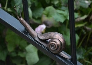 Putney, Swann Forge, Railing, Handrail, Style, Design, Wrought Iron, Blacksmith, Artist Blacksmith, Snail