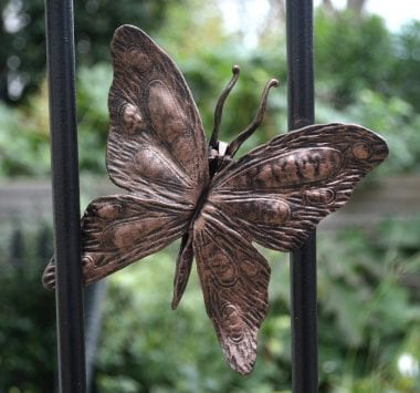 Putney, Swann Forge, Railing, Handrail, Style, Design, Wrought Iron, Blacksmith, Artist Blacksmith, Butterfly