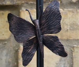 Putney, Swann Forge, Railing, Handrail, Style, Design, Wrought Iron, Blacksmith, Artist Blacksmith, Butterfly