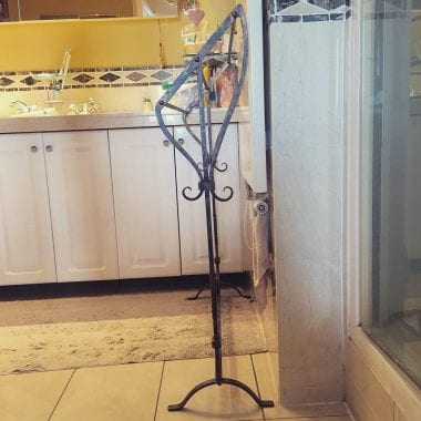 Towel Rail, Bathroom Interior, Interior Design, Swann Forge, Blacksmith, Wrought Iron